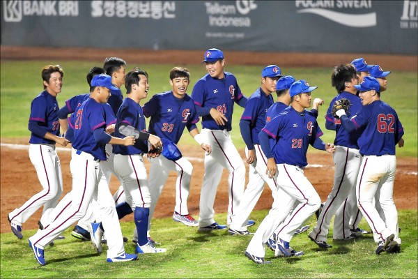 645分大進補 台灣棒球衝第5