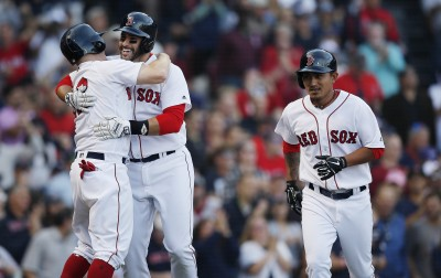 MLB》紅襪季賽最終戰打爆洋基 林子偉9月擴編大驚喜