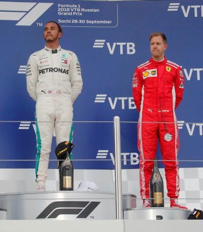 F1》漢米爾頓稱霸賽道 冠軍之路更進一步