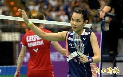 台北羽球公開賽》戴資穎逆轉封后 追平賽史女單最多冠紀錄