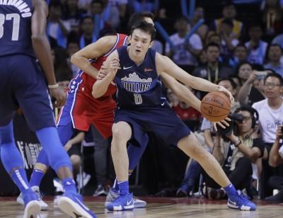 NBA》獨行俠海外賽復仇七六人   丁彥雨航首秀表僅拿1分