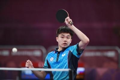 青奧桌球》林昀儒預賽3戰全勝 今晚力拚八強門票