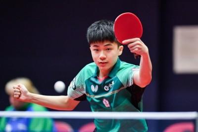 青奧桌球》直落四輾壓對手  林昀儒挺進八強