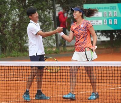 青奧網球》直落二輕取瓜多組合 曾俊欣混雙晉8強