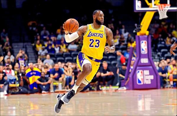 NBA後天開戰 門票「詹」光漲翻天