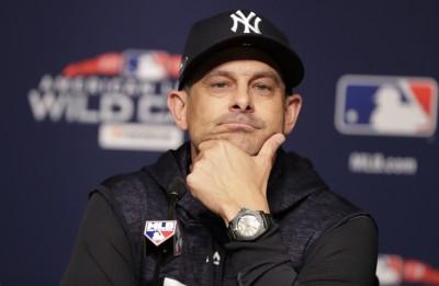 MLB》承認調度錯誤 洋基布總:是我太貪