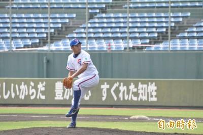 棒球》U18國手徐昇暉後援勝 台電挺進協會盃冠軍戰