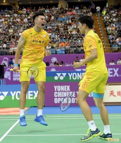 丹麥公開賽》台灣最強男雙 !「雙麟配」旗開得勝晉級16強