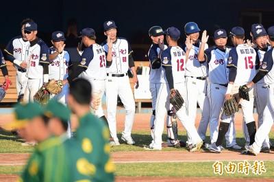 棒球》范孟晨優質先發、林軒逸進帳打點 台電擊敗合庫奪冠
