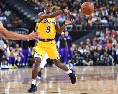 NBA》朗多豪氣宣示 想在湖人奪冠寫歷史