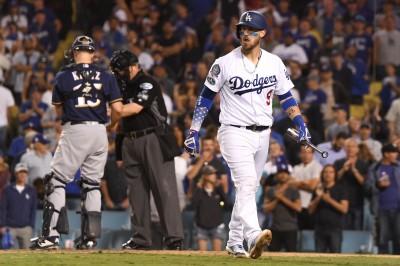 MLB》先發大失常打擊又手軟 道奇陷入落後危機