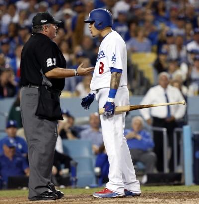 MLB》馬查多吞K槓上主審 美媒批:沒被趕出場很幸運了
