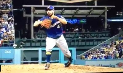 MLB》腳踝變形扭傷...釀酒人先發岡薩雷茲投1局退場