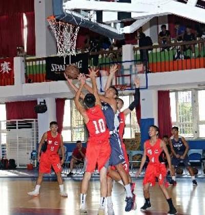 籃球》全國中正盃校際籃球賽 明仁國中蟬連國男甲組冠軍