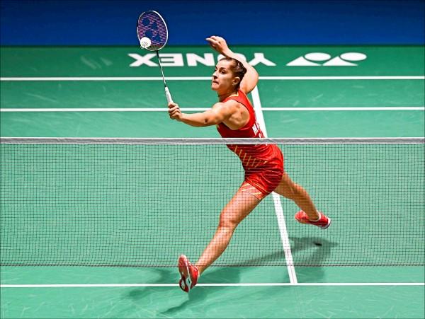 丹麥羽球公開賽》臂傷妨礙訓練 女王瑪琳首輪敗