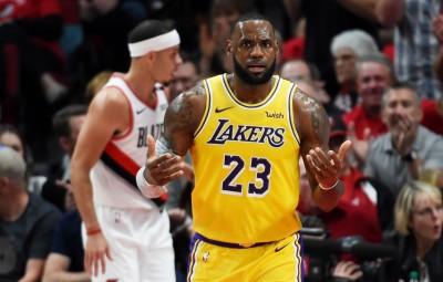 NBA》紫金大帝首戰魔咒? 詹姆斯湖人處女秀隊史次高26仍吞敗