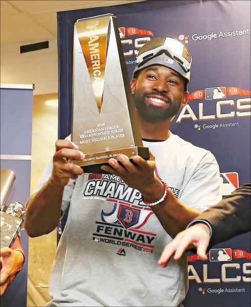 美冠賽「3安支支關鍵」 布雷德利奪MVP