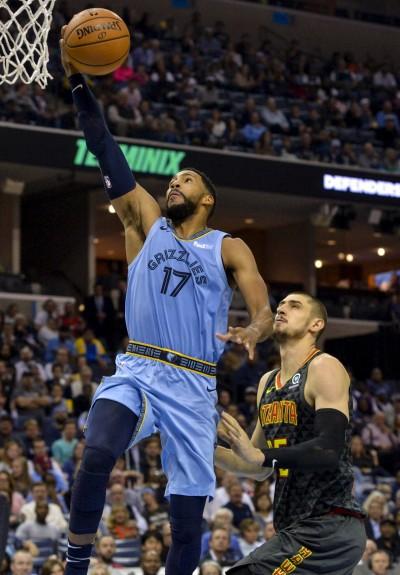NBA》林書豪替補攻下9分 老鷹不敵灰熊
