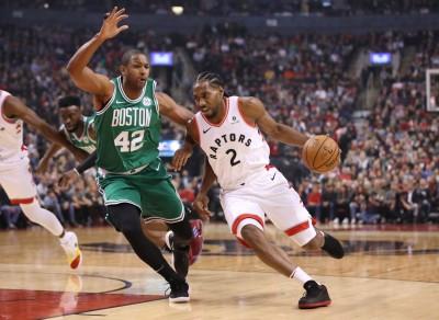 NBA》雷納德砍31分 率暴龍2連勝擊退綠衫軍