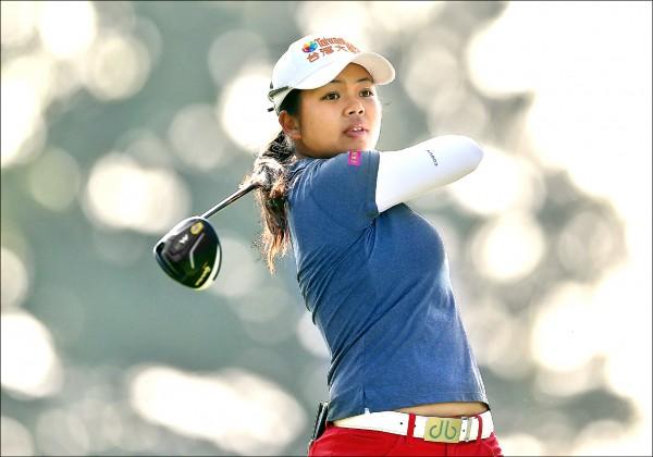 別克LPGA上海賽》靠香蕉皮轉運?徐薇淩升至13名
