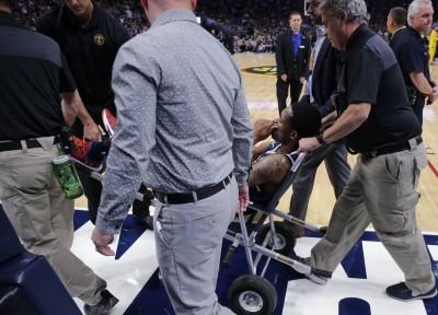 NBA》金塊拉警報!巴頓拉傷腹股溝  恐無期限休戰