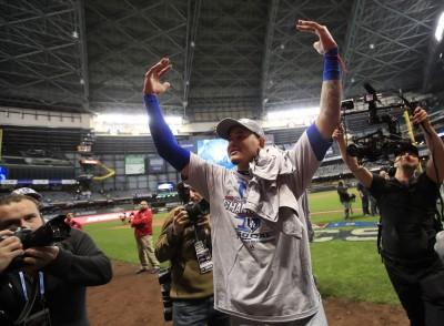 MLB》客場作戰被狂嗆 馬查多奪冠後霸氣回應
