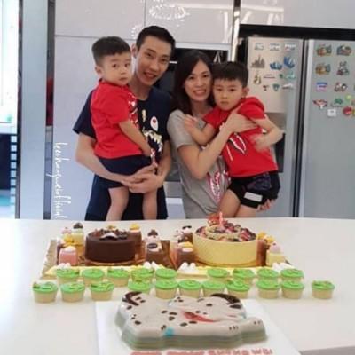 羽球》開心歡慶36歲生日  李宗偉仍盼盡早回球場