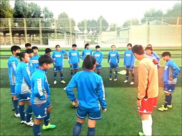 女足U19練兵 明首戰塔吉克