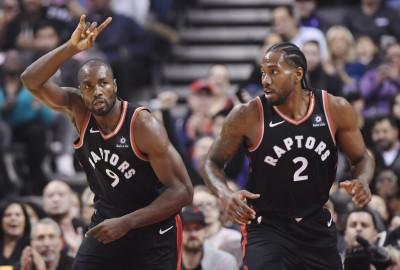 NBA》暴龍大勝黃蜂奪開季4連勝 聯盟最佳戰績霸氣問鼎東冠