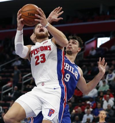 NBA》葛瑞芬爆砍50分寫新高 延長賽致勝三分打氣走七六人
