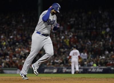 MLB》紅襪、道奇世界大賽碰頭 34歲老將坎普開轟別具意義(影音)