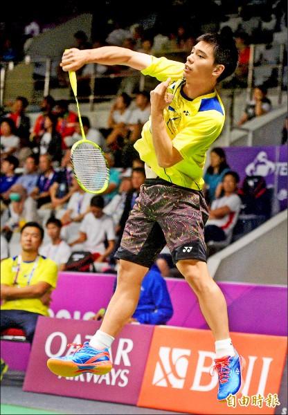 中國福州羽球公開賽》第1關連7慘 許仁豪終於開胡