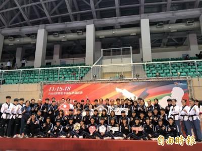 跆拳道》品勢世錦賽明登場 台灣隊目標3金以上