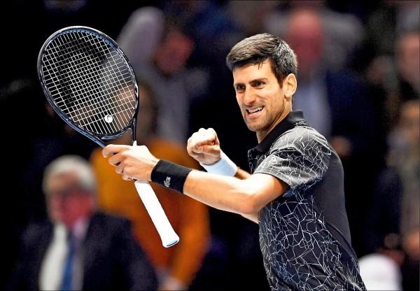 ATP年終賽》C羅攜伴力挺 喬帥爽開紅盤