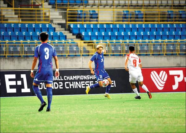 東亞足球錦標賽》朱恩樂護台保級 後天戰北韓拚晉級