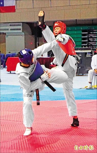 世界跆拳道主席盃》奧運雙英雌奮起 跨出第一步