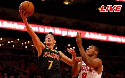 NBA Live》林書豪上半場沒表現 老鷹射手發威半場領先勇士