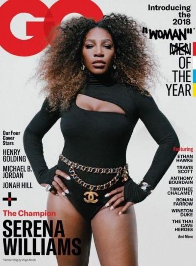 網球》歧視?小威登GQ封面 標題從男人改為女人