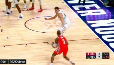NBA》狂!CP3神級運球戲耍對手 約基奇當場變旋轉門 (影音)