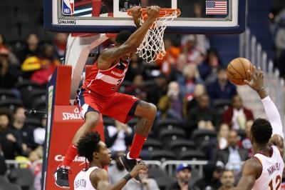 NBA》巫師主場大勝24分 賞給騎士本季第12敗