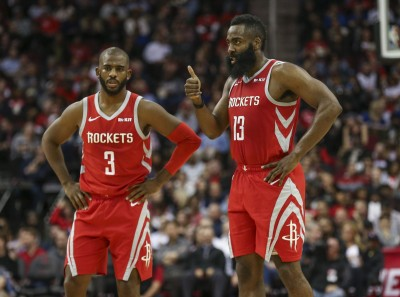 NBA》「三巨頭」解體沒影響  火箭主場照樣轟垮勇士
