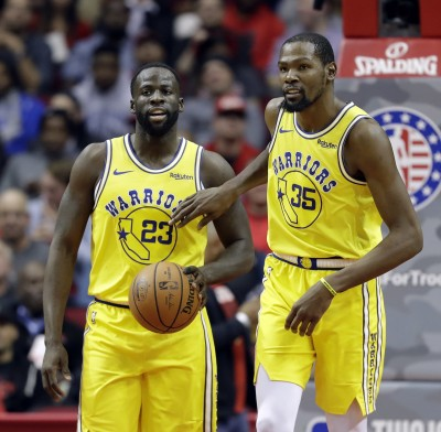 NBA》衛冕軍勇士慘敗火箭 D.格林:我們仍是最好的球隊