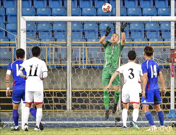東亞足球錦標賽》下半場失守 我對北韓10連不勝