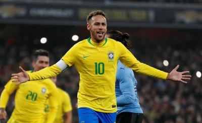 足球》內馬爾12碼破網 巴西豪取國際賽5連勝