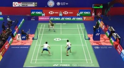羽球》神!韓國男雙天才對決世界第一 瘋狂來回101拍(影音)