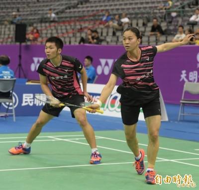 羽球》李洋/許雅晴不敵世界第五 仍創兩人合拍最佳戰績