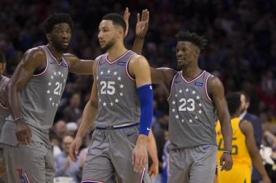 NBA》巴特勒費城主場首秀 率七六人驚險擊敗爵士
