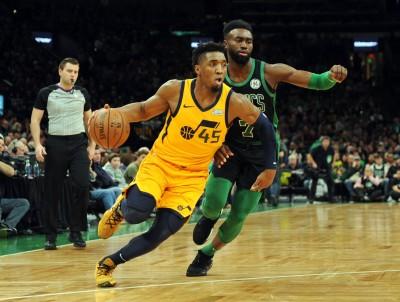 NBA》米契爾、魯比歐聯手砍48分 爵士擊潰綠衫軍終止2連敗