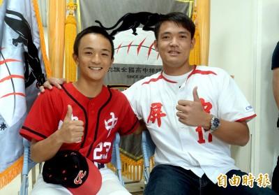 棒球》黑豹旗冠軍賽前 大會邀首屆選手陳韻文開球