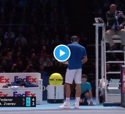 ATP年終賽》費爸無緣衝擊生涯百冠 比賽一意外成焦點